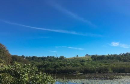 One thing Block Island has is beautiful scenery.