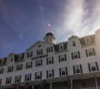 """""""Downtown"""" Block Island is dominated by the National Hotel."""